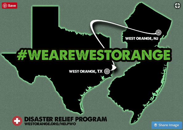 West Orange Nj Helping Disaster Relief For West Orange Tx
