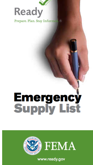 Make sure your emergency kit is stocked with the items on the checklist below. Most of the items are inexpensive and easy to find, and any one of them could save your life.