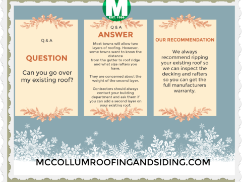 Q&A_Roofing Tips_McCollum Roofing_West Orange NJ