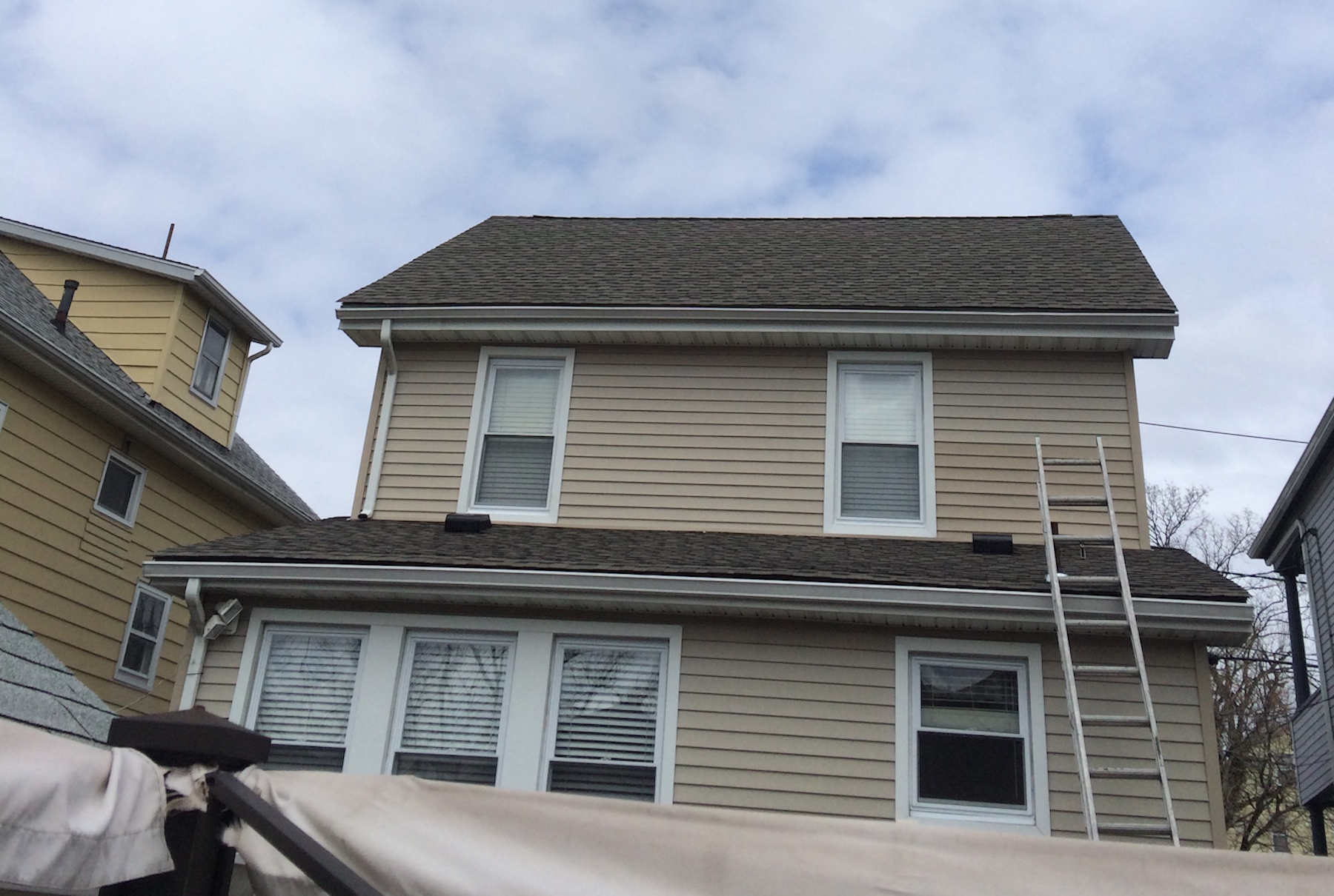Timberline Shingles The Color Is Weathered Wood Bloomfield Nj